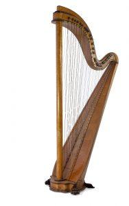 Cross-strung harp