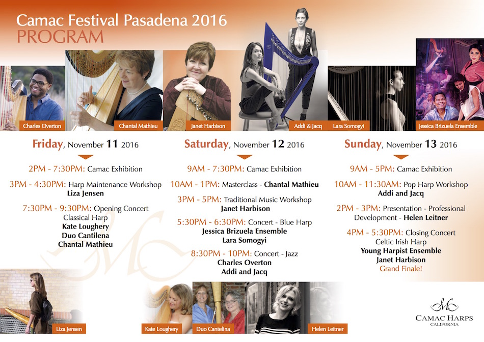 Flyer Camac Festival Pasadena 2016 2