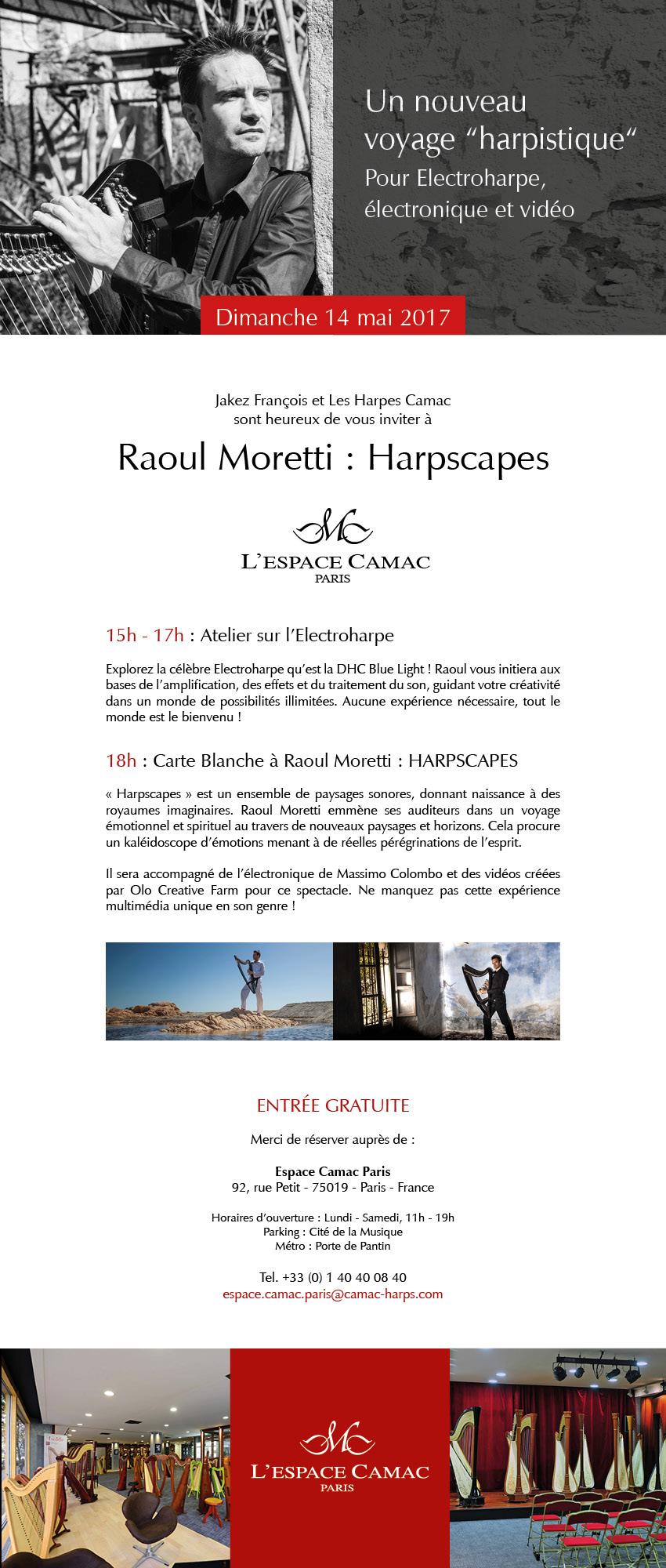 Raoul Moretti @ L'Espace Camac