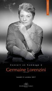 Hommage à Germaine Lorenzini