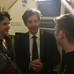 Isabelle Moretti, Jakez François, Sylvain Blassel