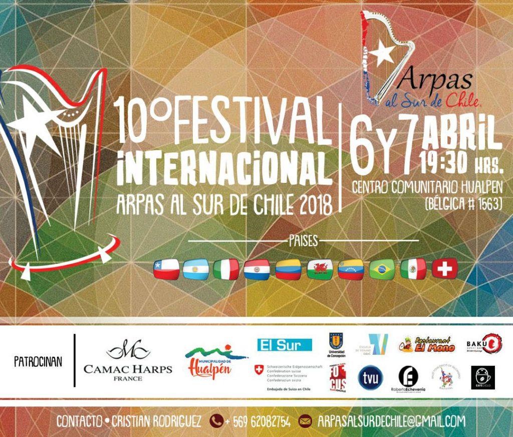Festival internacional de Arpa ARPAS AL SUR DE CHILE