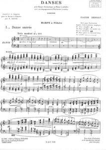 Debussy, Danse sacrée