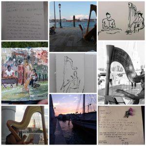 Musical postcards from Nabila Chajai