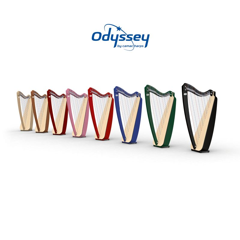 Odyssey Harps, by Camac