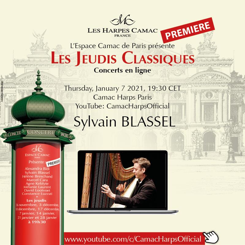 Les Jeudis Classiques, January 7, 2021: Sylvain BLASSEL